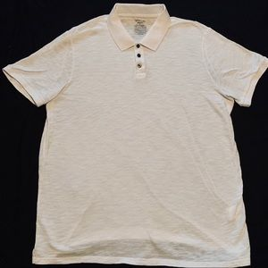 WHITE VINCE POLO SIZE MENS XL!